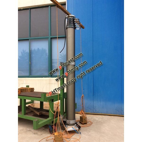 12m Emergency heavy duty lighting mast
