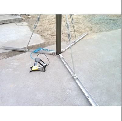 foot pump for light duty mast