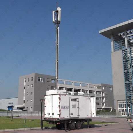 PHT-12.5m pneumatic telescopic masts for BTS