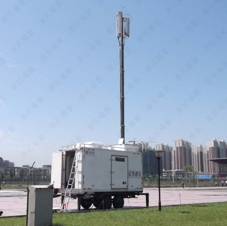 12.5m PHT-telescopic Masts for Mobile Base Transceiver Station