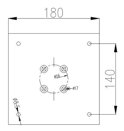 top flange specification of 81203040
