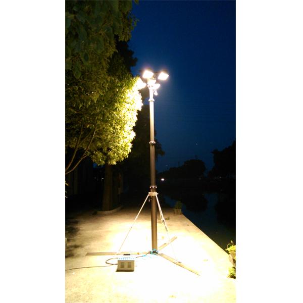 lighting pneumatic mast