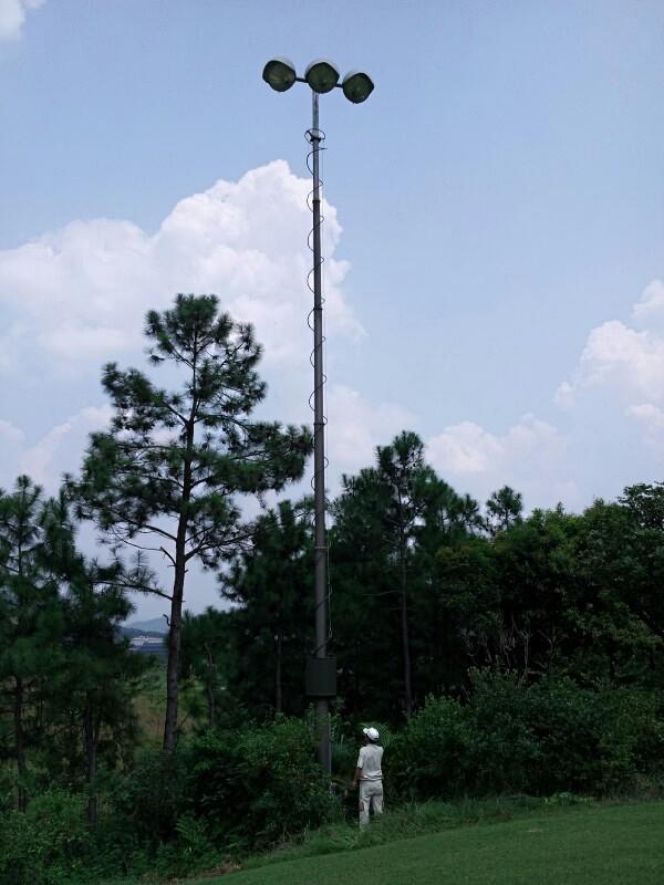 PHT-lighting mast