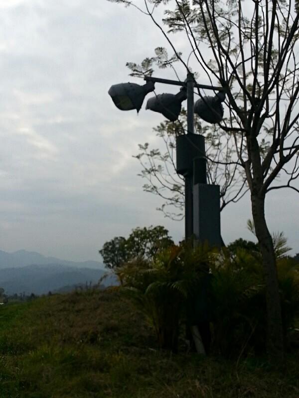 pht-high lighting mast tower