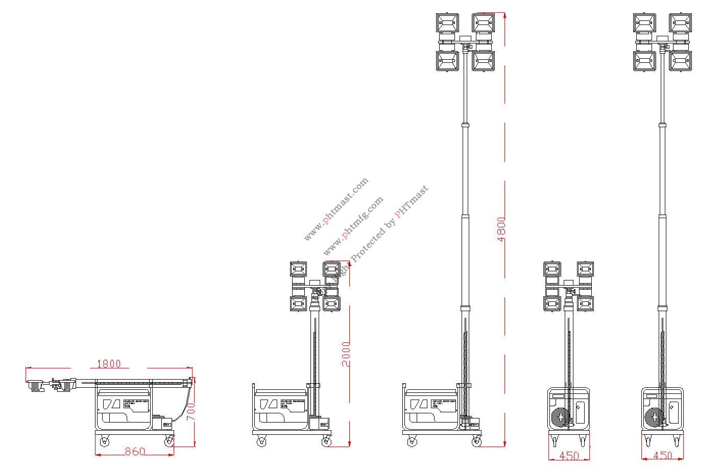 light tower PHT-540