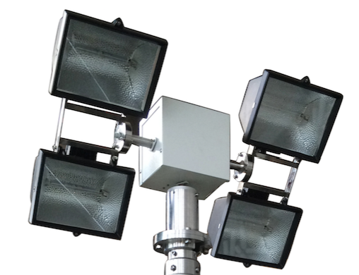 4000W lamps with turn tilt head