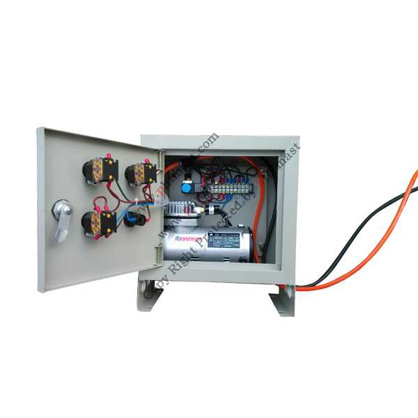 control box inner