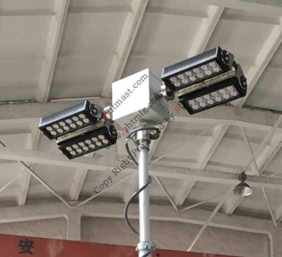 400W LED-turn tilt