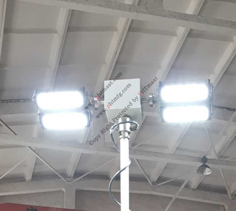 400W LED with turn tilt