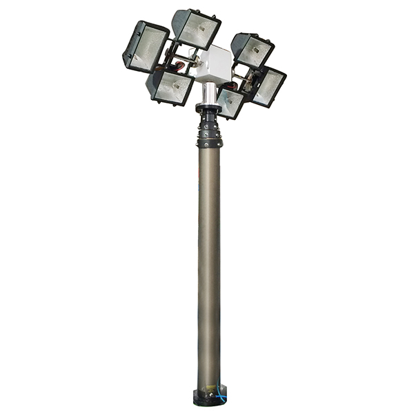 6m side mounting move lighting tower- 6000W lamps