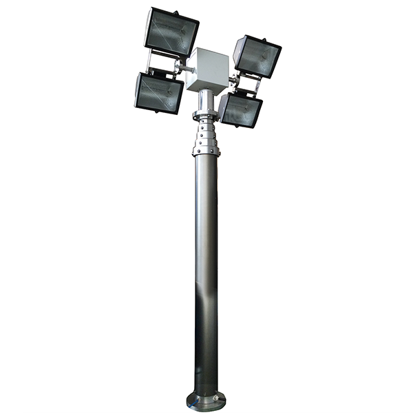 6m mast tower lighting system