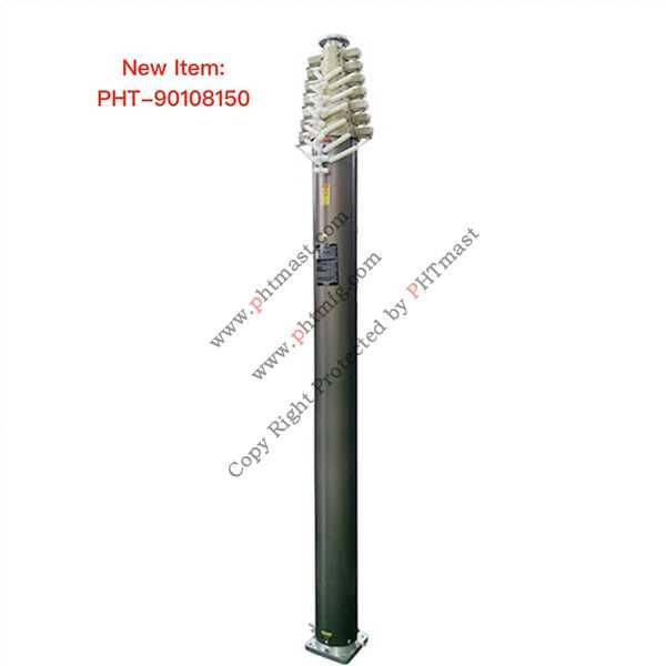 15m locking mast-100kg payloads-90108150