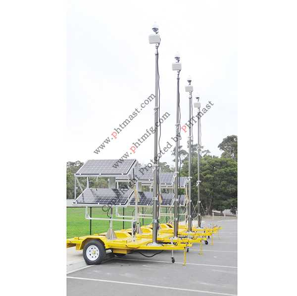 6m CCTV Locking Mast