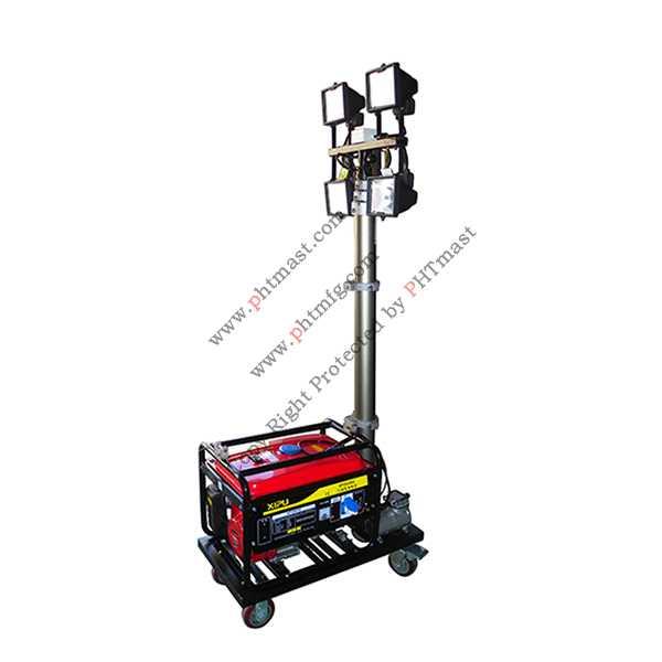 Portable Mobile Light Tower