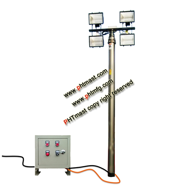 6.2m Mast Lighting Tower System