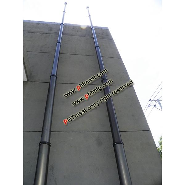 15m Telescopic Mast-100kg Payload