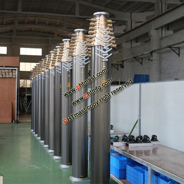18m Locking Mast-230kg Payloads