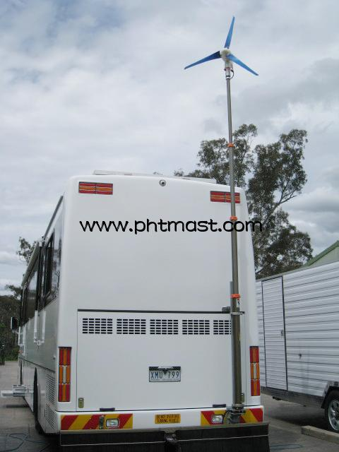 Telescopic Mast for Wind Turbine