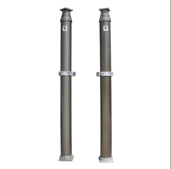 17.5m Un-locking Pneumatic Telescopic Masts